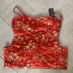 Fashion nova satin dress